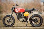 Yamaha XT600 custom built by Spain's Radical Ducati workshop.