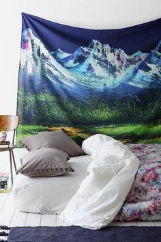 Mountain Tapestry Urban Outfitters