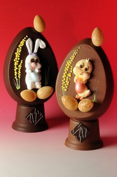 Easter chocolate creations by Italian pastry chef, Gianluca Mannori.