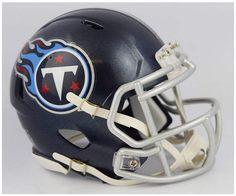 22b30f505f2 Riddell Tennessee Titans Speed Mini Helmet - Blue