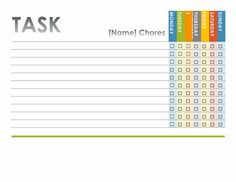 office templates themes chore chart