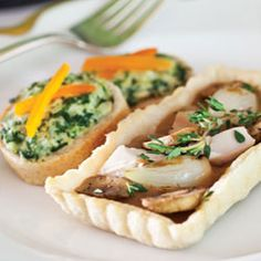 Coq au Vin Tartlets: We've transformed the legendary French dish into perfectly portioned tartlets!