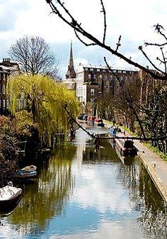 Regent's Canal, Camden Town, London