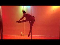 Machine gun pole trick tutorial by Kristy Sellars - YouTube