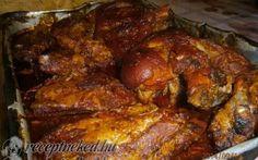 üRagacsos csülök,és oldalas együtt sütve recept fotóval Hungarian Recipes, Hungarian Food, Tandoori Masala, Tandoori Chicken, Paleo, Pork, Cooking Recipes, Lunch, Beef