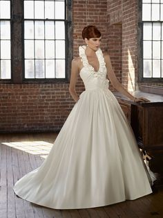 4805 Radiant Taffeta Wedding Dress – Mori Lee Blu 2011 Collection