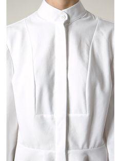Alexander McQueen asymmetric shirt dress