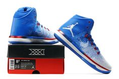 9a3597ab73e Air Jordan XXXI 'USA – Road' Blue White Red 2016 Release. Kids JordansWomens  JordansJordans For MenNike Air JordansCheap Retro ...