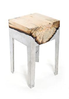 Hilla Shamia - wood casting