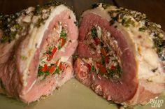 Herb and Prosciutto Stuffed Steak Steak Recipes, Paleo Recipes, Real Food Recipes, Recipes Dinner, Delicious Recipes, Dinner Ideas, Cooking Recipes, Paleo Diet Plan, Diet Plans