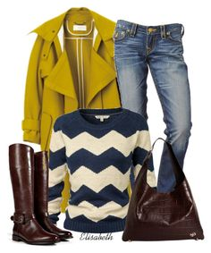 """Yellow for Winter"" by lbite1 ❤ liked on Polyvore featuring Fat Face, Givenchy, Burberry and polyvoreteam"