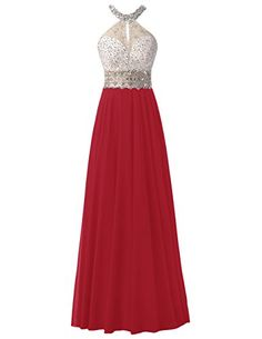Dresstells® Long Chiffon Halter Neck Prom Dress With Bead... https://www.amazon.co.uk/dp/B01KNYHG54/ref=cm_sw_r_pi_dp_x_K.2UybN2RGR6K
