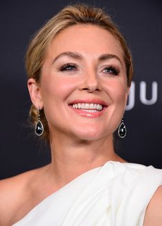 Actress Elisabeth Rohm attends the 16th Costume Designers Guild Awards with presenting sponsor Lacoste at The Beverly Hilton Hotel