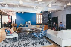 WeWork Nomad is anchored in the center of Manhattan just north of Madison Sq. Park.