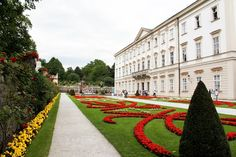"Strolled through the Mirabell Gardens in Salzburg, Austria.  (Hard not to break into song...""Do Ri Me""...from ""The Sound of Music"" when strolling around Salzburg!) 2000."