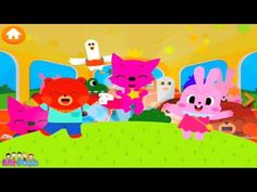Жёлтый Автобус - PinkFong Bus | PinkFong HD Educational Games For Kids