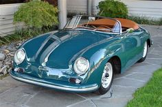 1958 Used Porsche 356 A Super Speedster at Canepa Serving Scotts . Fancy Cars, Cute Cars, Retro Cars, Vintage Cars, Porsche 356 Speedster, Porsche 944, Porsche Cars, Porsche Wheels, Porsche 356 Outlaw