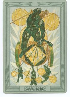 6fb6f13ba91398 ALEISTER CROWLEY THOTH TAROT CARD DECK. Fortune Telling, Oracle Cards,  Archetypes, Tarot