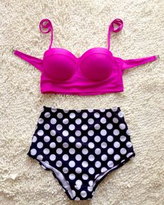New Dot Girl's Bikini Swimsuit - http://AmericasMall.com/