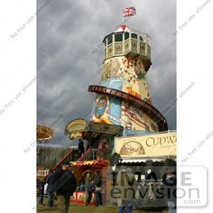 old carnival | 16642 Stock Photo of Old Fashioned Fairground, Carnival Rides by ...