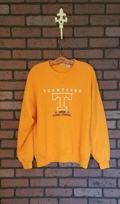 fef8c5766429 Vintage University of Tennessee Vols 1998 National Champions embroidered  sweatshirt. LARGE