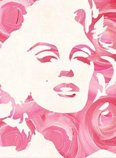 """marilyn monroses"" painting. #SephoraColorwash"