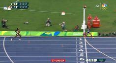 "NBC Olympics on Twitter: ""#GOLD #TeamUSA WINS the Women's 4x400m Relay…"