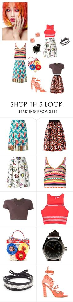 """""""Pleated Skirts..**"""" by yagna ❤ liked on Polyvore featuring Chanel, Class Roberto Cavalli, Boutique Moschino, Alice + Olivia, Romeo Gigli, T By Alexander Wang, Dolce&Gabbana, John Isaac, Amber Sceats and Paula Cademartori"""