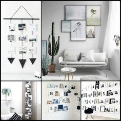 AuBergewohnlich Fotowand Selber Machen: Ideen Für Eine Kreative Wandgestaltung