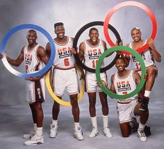 The 1992 Dream Team FIBA allowed professional basketball players to compete in the Olympics for the first time at the 1992 Games. The best players in the NBA teamed up to represent the USA, winning the gold medal with arguably the best team ever assembled.