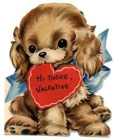 Free Printable Vintage & Retro Valentines for Kids