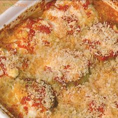 Michael Symon's Eggplant Parmesan : abc - the chew