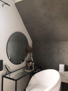 Grey Bedroom Decor, Room Design Bedroom, Room Ideas Bedroom, Rental Home Decor, Luxury Home Decor, Small Loft Apartments, Aesthetic Room Decor, Apartment Interior, Room Inspiration