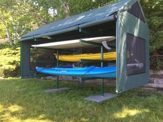 Custom kayak/SUP storage