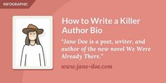How to Write a Killer Author Bio – Article on Reedsy… – Chris The Story Reading Ape's Blog