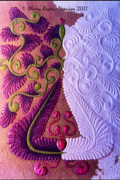 Sherry Rogers-Harrison.  Quilt-n-Paint