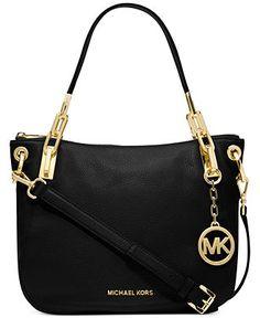MICHAEL Michael Kors Brooke Medium Shoulder Tote - All Handbags - Handbags  Accessories - Macys