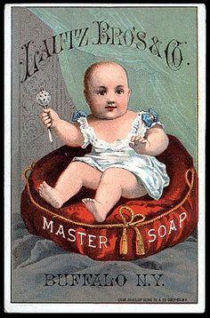 Lautz Bros. & Co. Master Soap trade card.