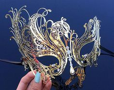 Vine Masquerade Mask Masquerade Mask Vine Mask Metal by 4everstore