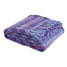 Multicolored Braided Throw - Throws - Decor and pillows   Zara, $80