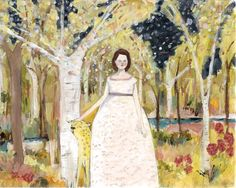 her bravery knew no end - limited edition giclee print of original oil painting by Amanda Blake