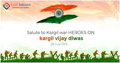 We Salute to the sacrifice and courage of the real heroes of our nation who made sure that our country lives in peace. We shall always remember your sacrifices and dedication. Kargil War, Always Remember You, Real Hero, Digital Marketing Services, Software Development, Country Life, Web Design, Peace, Design Web