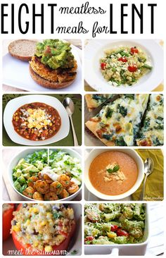 8 Great Meatless Meals for Lent