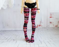 Stockings for doll 1/4 slim msd minifee