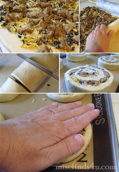 OAMC freezer cooking pizza rolls how-to instructions  #recipe