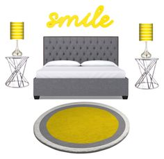 """""""Bedroom #3"""" by bruhitsbriannas on Polyvore featuring interior, interiors, interior design, home, home decor, interior decorating, Giclee Glow, Flamant and bedroom"""