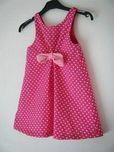 Modèle robe enfant Plus