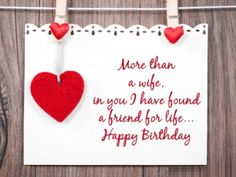 Happy Birthday Wishes for Wife with images, Quotes and Messages