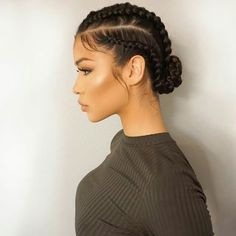 Super Cute And Creative Cornrow Hairstyles You Can Try T.- Super Cute And Creative Cornrow Hairstyles You Can Try Today conrows-great-for-summer More - Super Cute Hairstyles, Bob Hairstyles, Creative Hairstyles, Natural Cornrow Hairstyles, Black Hairstyles, Cornrow Hairstyles 2017, 4 Braids Hairstyle, Single Braids Hairstyles, Relaxed Hairstyles