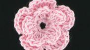 eenvoudige, kleine bloem haken